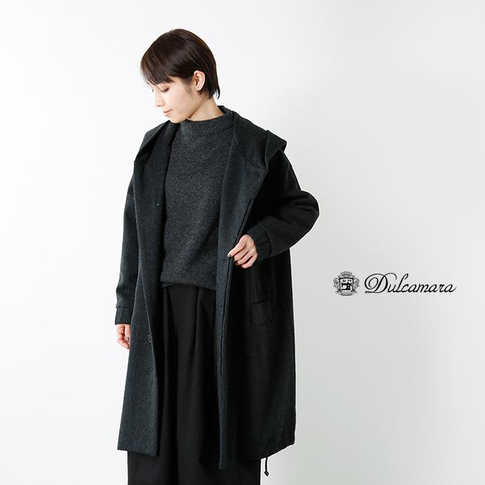 Dulcamara(ドゥルカマラ)ビーバーウールフードコートd217-c410