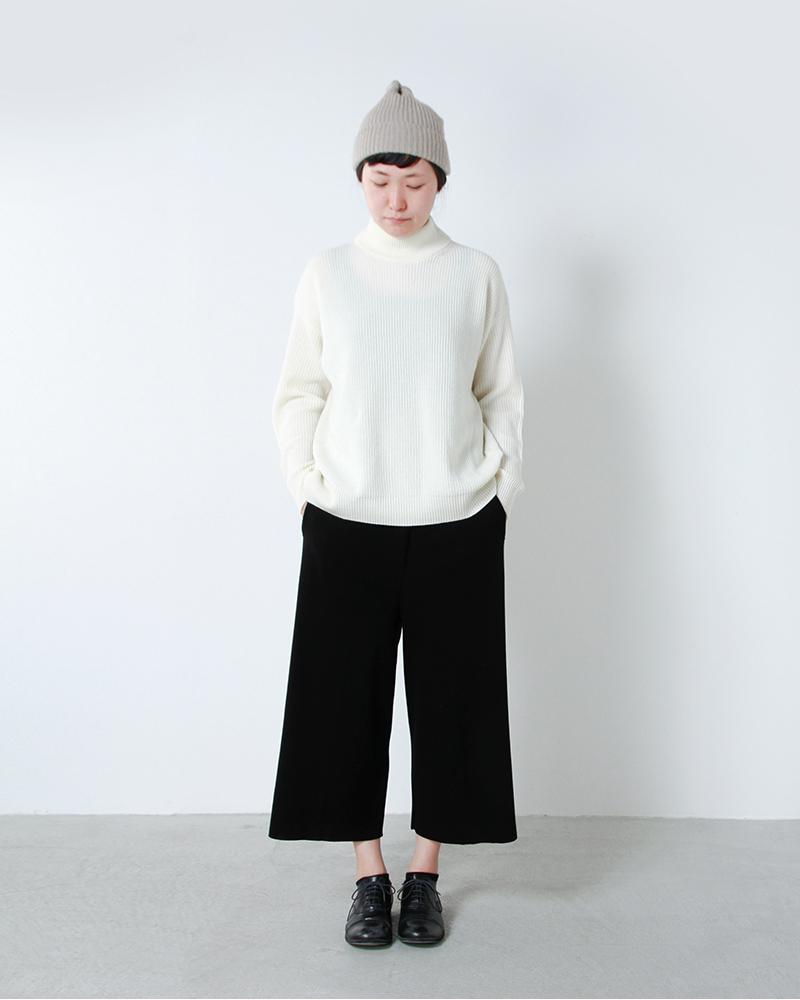 "mature ha.(マチュアーハ)プリーツニットキャップ""pleats knit cap"" maw17-11"