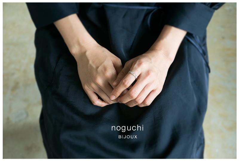 noguchi BIJOUX(ノグチ)K14スタッズモチーフリング nn152