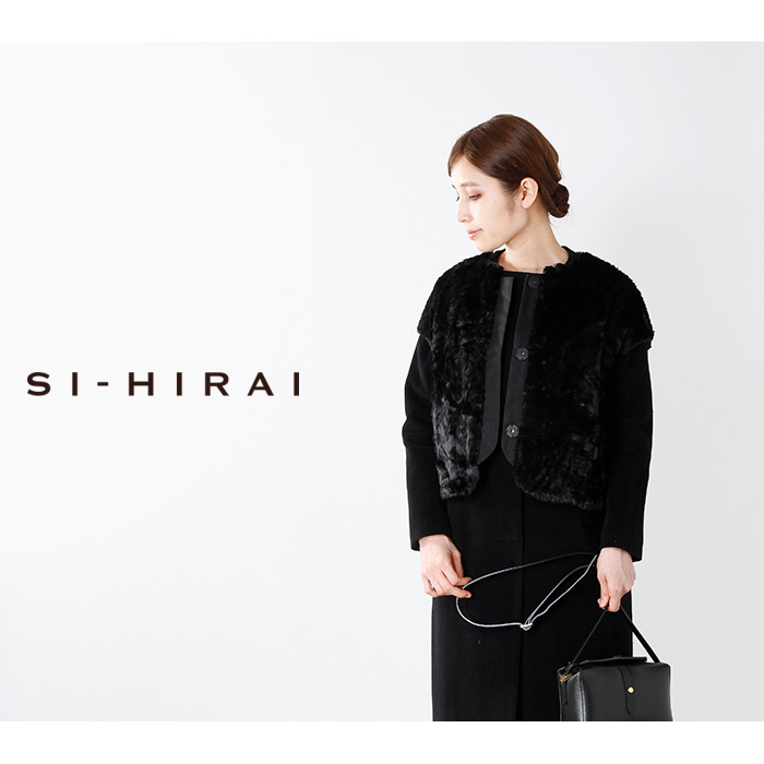 SI-HIRAI(スーヒライ)フェイクファーボレロchaw17-3618