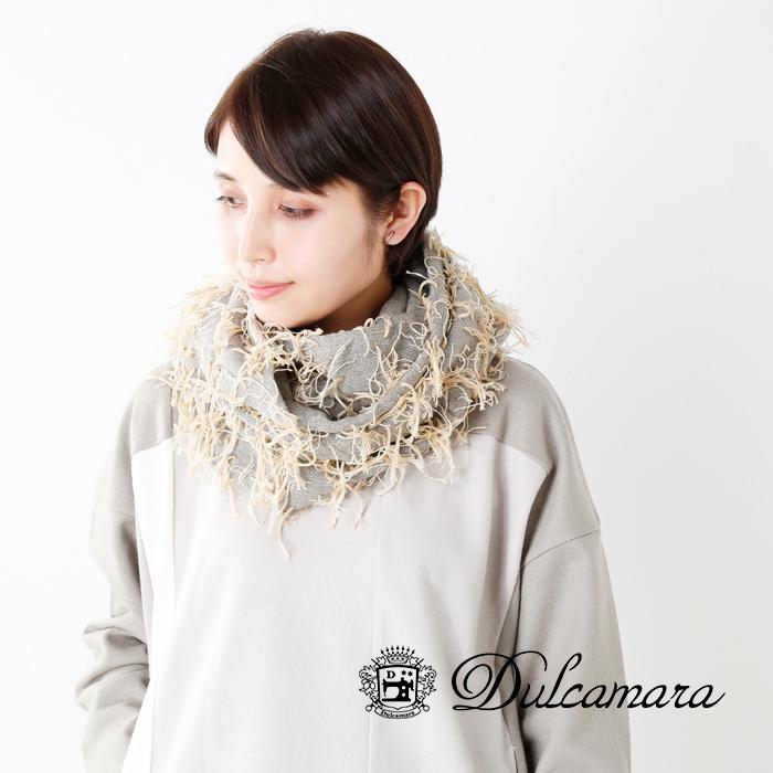 Dulcamara(ドゥルカマラ)ウールラグスヌードd217-g300