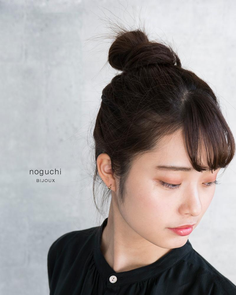 noguchi BIJOUX(ノグチ)K14ホーンモチーフピアス nn3001