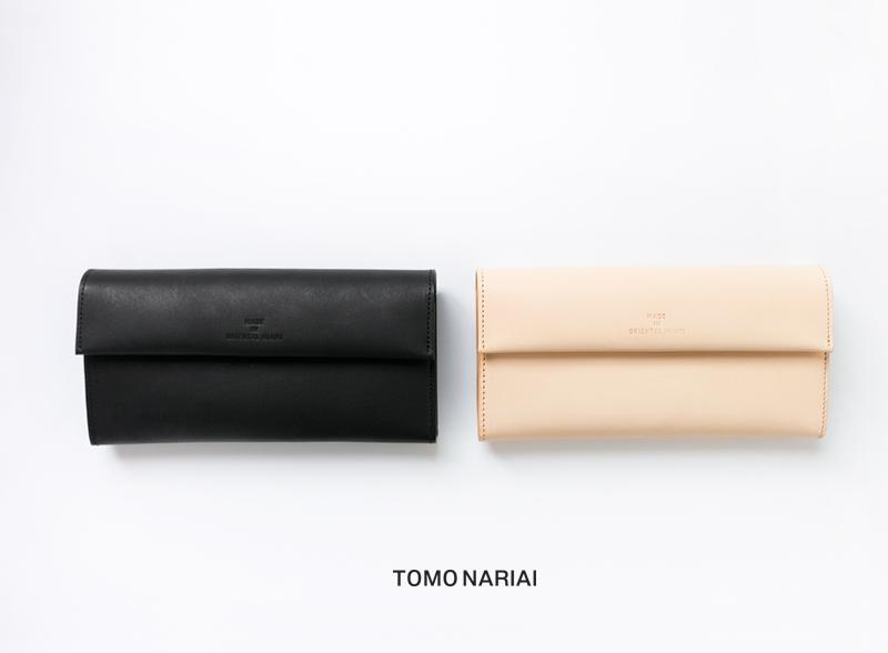 TOMO NARIAI(トモ ナリアイ)ロングレザーウォレット om-et-b-1-om-et-n-1