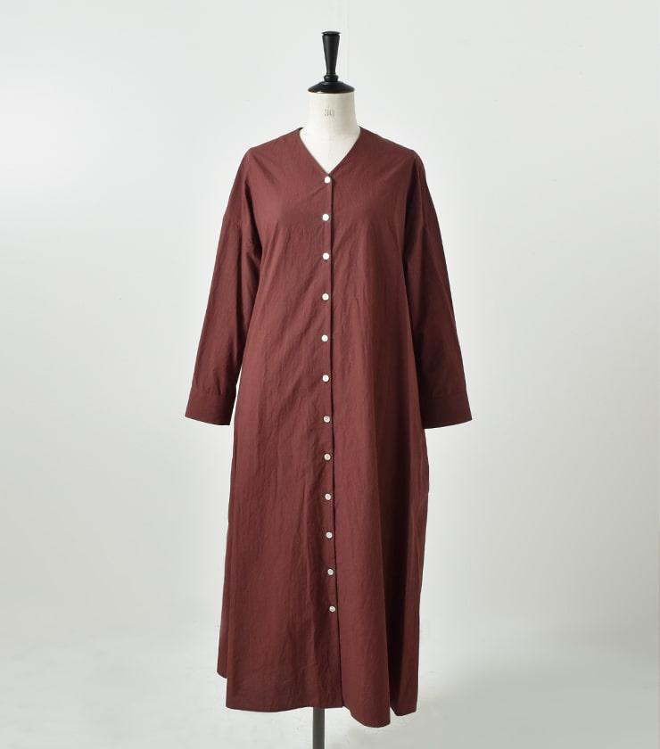 susuri(ススリ)コットンドナーワンピース 18-261 18-258
