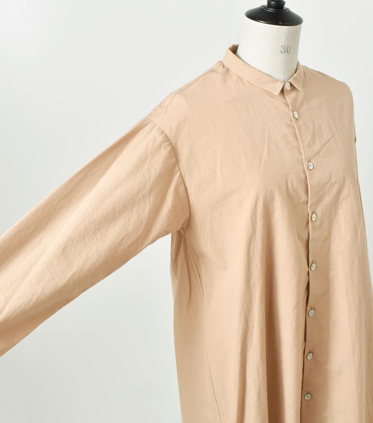 susuri(ススリ)コットンヘムレンシャツ 18-358