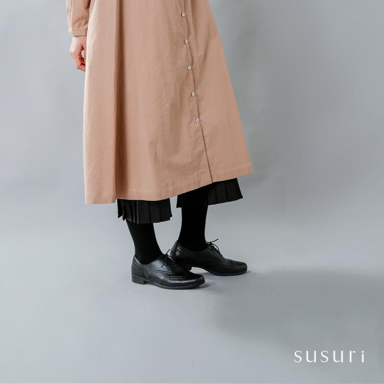 susuri(ススリ)コットンフルッターパンツ 18-552