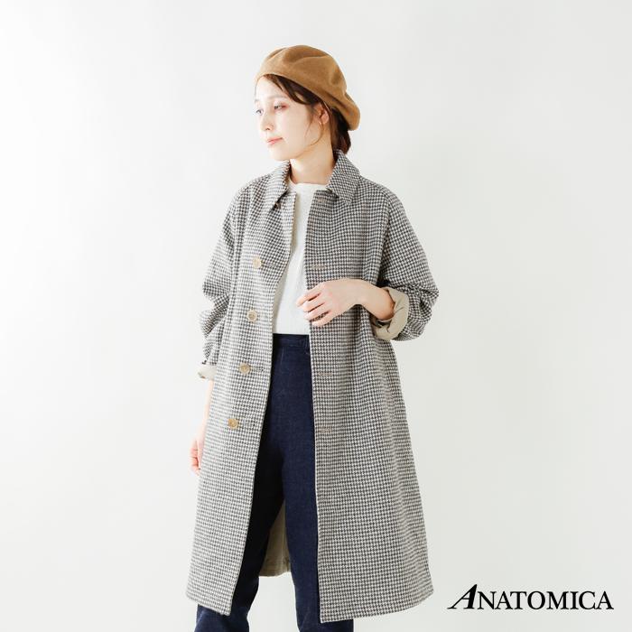 ANATOMICA(アナトミカ)シングルラグラン2SPギャバジンコート530-182-02