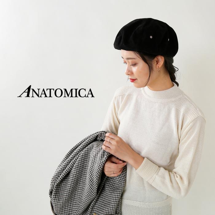 """ANATOMICA(アナトミカ)ウールクルーネックニットプルオーバー""""ATC CREW NECK"""" 530-492-11"""