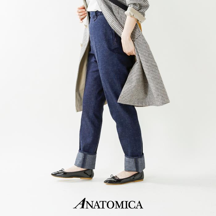 """ANATOMICA(アナトミカ)コットンセンタープレスデニムパンツ""""FRONTIERPANTS""""531-501-03"""