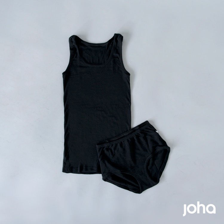joha(ヨハ)メリノウールタンクトップ 77791-5