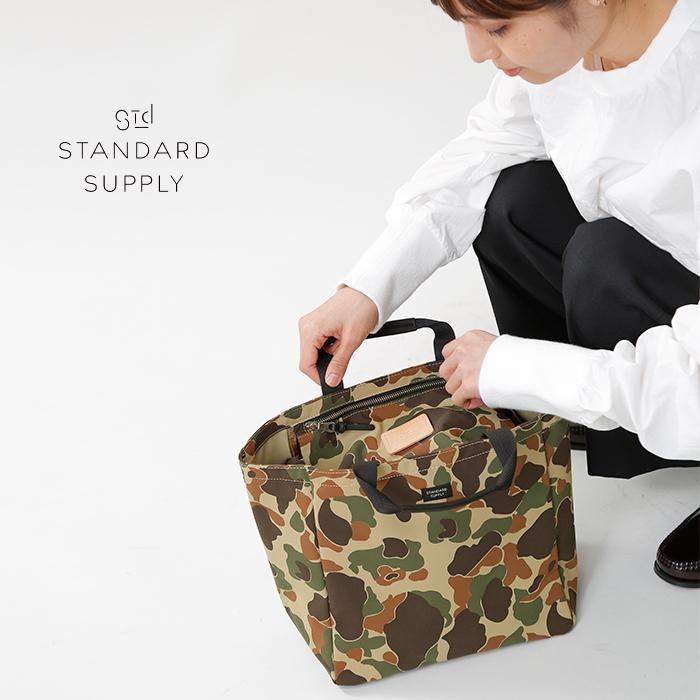 "STANDARDSUPPLY(スタンダードサプライ)バイシクルトートバッグSカモフラージュ""SIMPLICITY""b-tote-s-camo"
