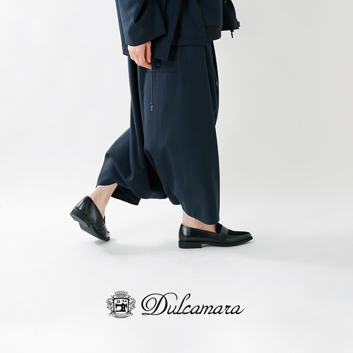 Dulcamara(ドゥルカマラ)ウール100%よそいきワイドサルエルパンツ d218-p123