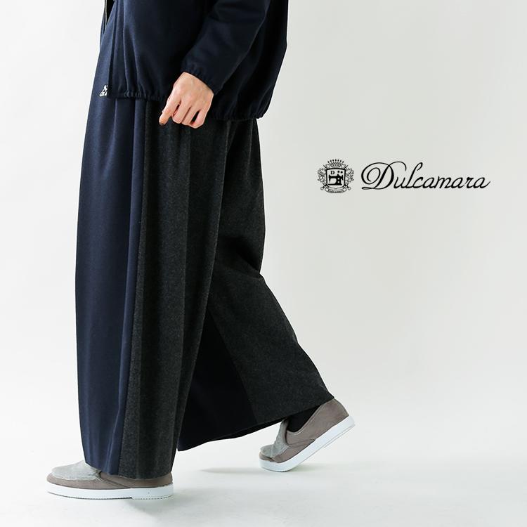 Dulcamara(ドゥルカマラ)ウールフラノエレファントパンツ d218-p319