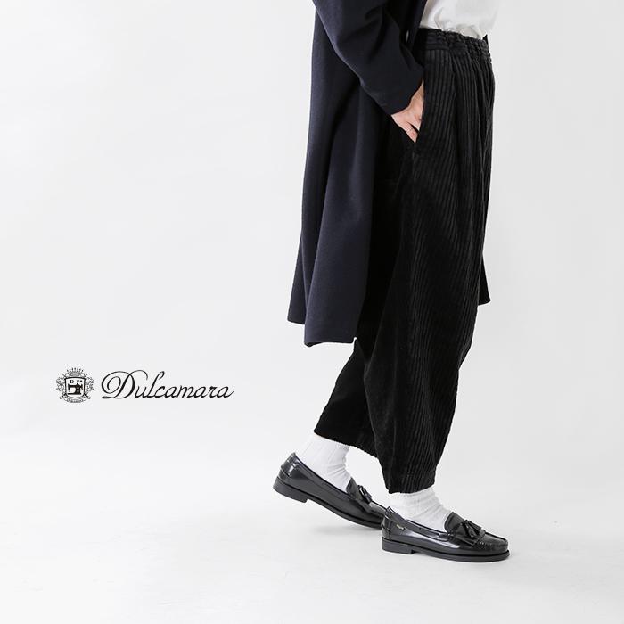 Dulcamara(ドゥルカマラ)コーデュロイタックワイドパンツ d218-p603