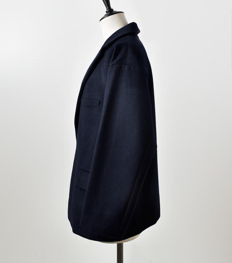 "TOUJOURS(トゥジュー)オーバーサイズドサックジャケット""Oversized Low Button Sack Jacket"" km29rj02"
