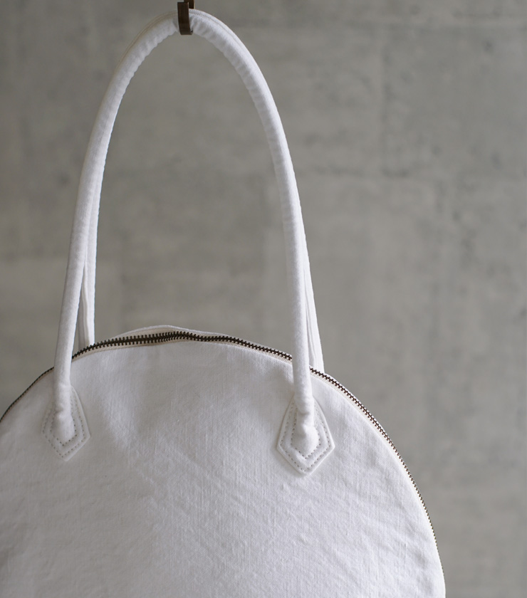 "MARTAU.(マルト)ヴィンテージフレンチリネントートバッグS""SHELL BAG"" mb-007-16000-16000"