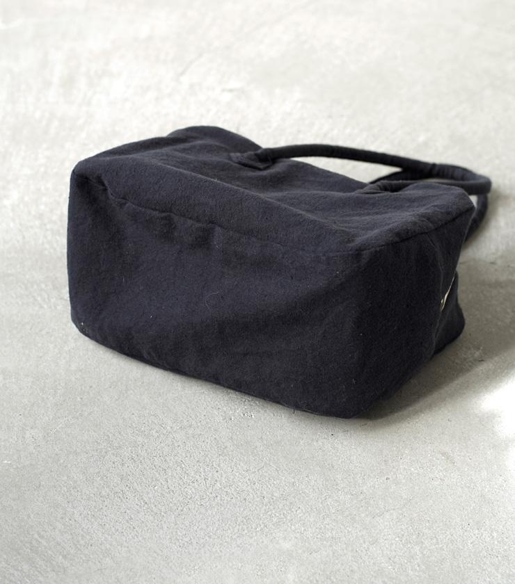 "MARTAU.(マルト)ヴィンテージフレンチリネンハンドバッグM""BOX BAG M"" mb-002-18000"