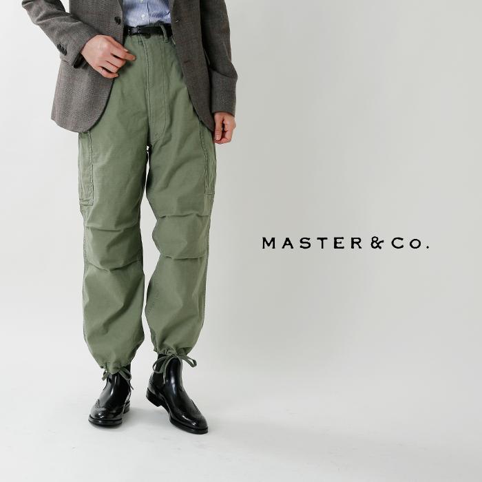 MASTER&Co.(マスターアンドコー)コットンベルト付き6ポケットカーゴパンツ mc537