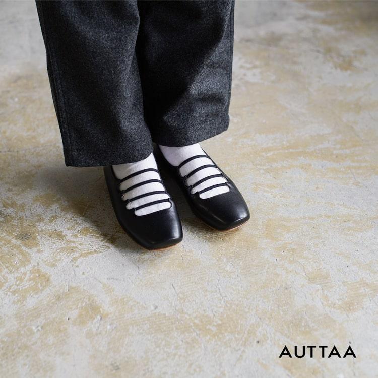 """AUTTAA(アウッタ)レザーバレーシューズ""""Petty"""" petty"""