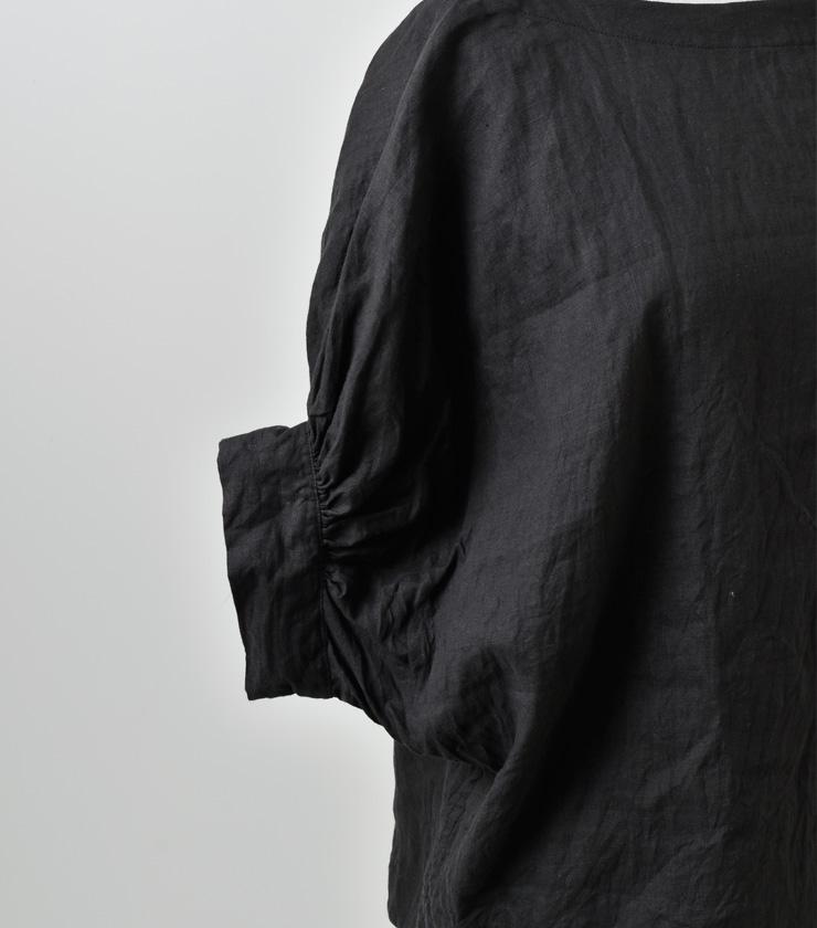 suro(スロ)ドルマンバルーンリネンプルオーバー 180301-02-03