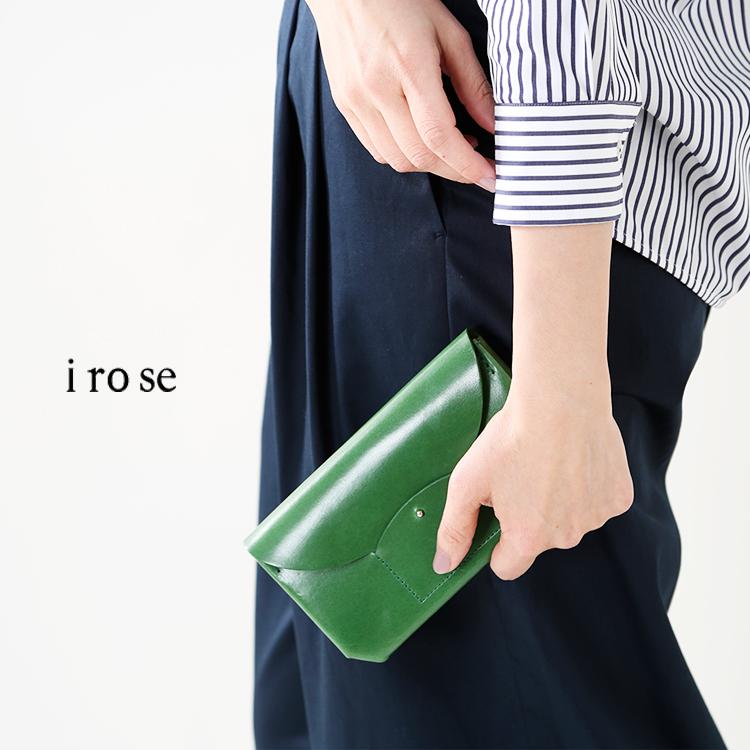 """irose(イロセ)カウレザーロングウォレット""""RICRAC""""acc-r01"""