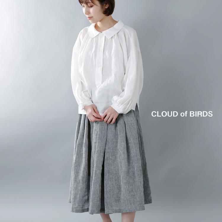 CLOUD of BIRDS(クラウドオブバーズ)1/60リネンキャンブリックブラウス cb-1053
