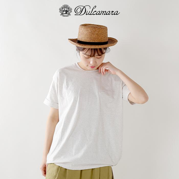 Dulcamara(ドゥルカマラ)40/2天竺コットンバルーンTシャツd118-t900