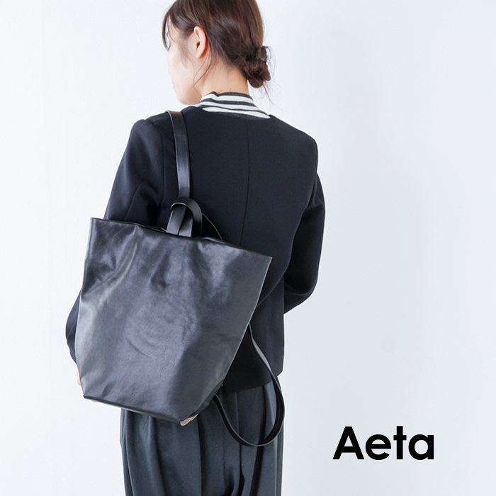 "Aeta(アエタ)キップレザーリュックサック""RUCKSACK M"" le03"