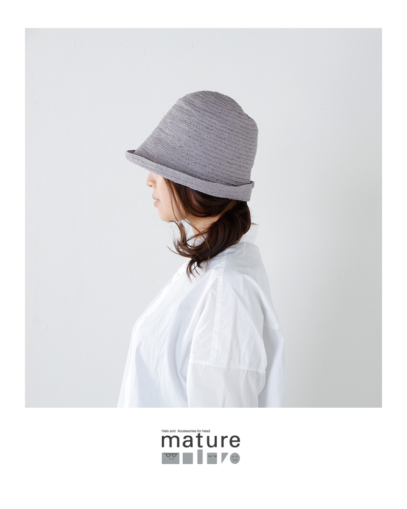 mature ha.(マチュアーハ)ジュートフリーハット mas18-31
