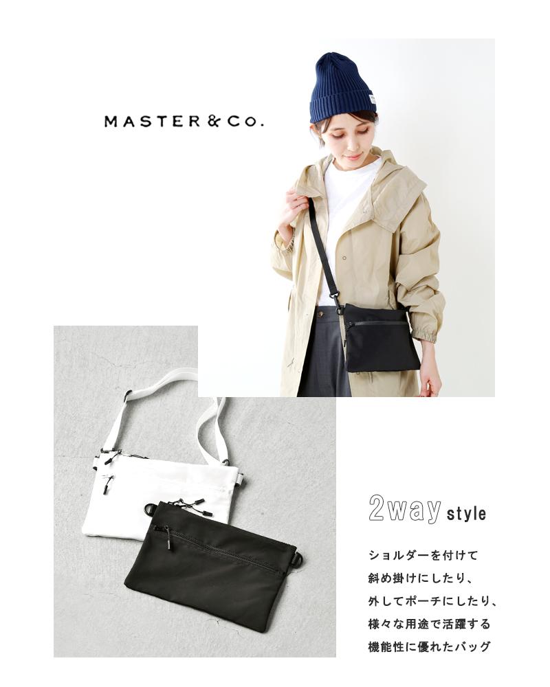 MASTER&Co.(マスターアンドコー)ナイロン2wayショルダーバッグmc1004