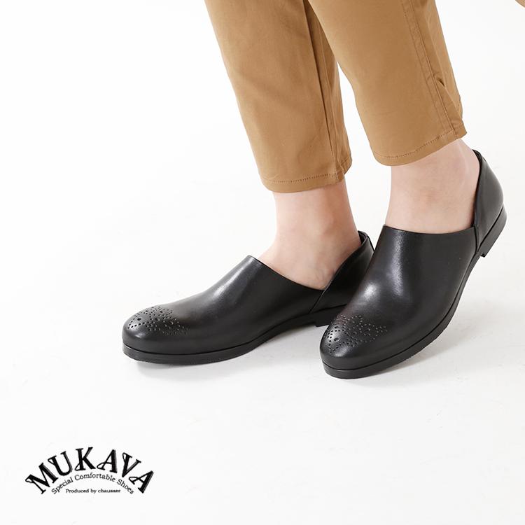 MUKAVA(ムカバ・ムカヴァ)メダリオンレザーシューズmu-981
