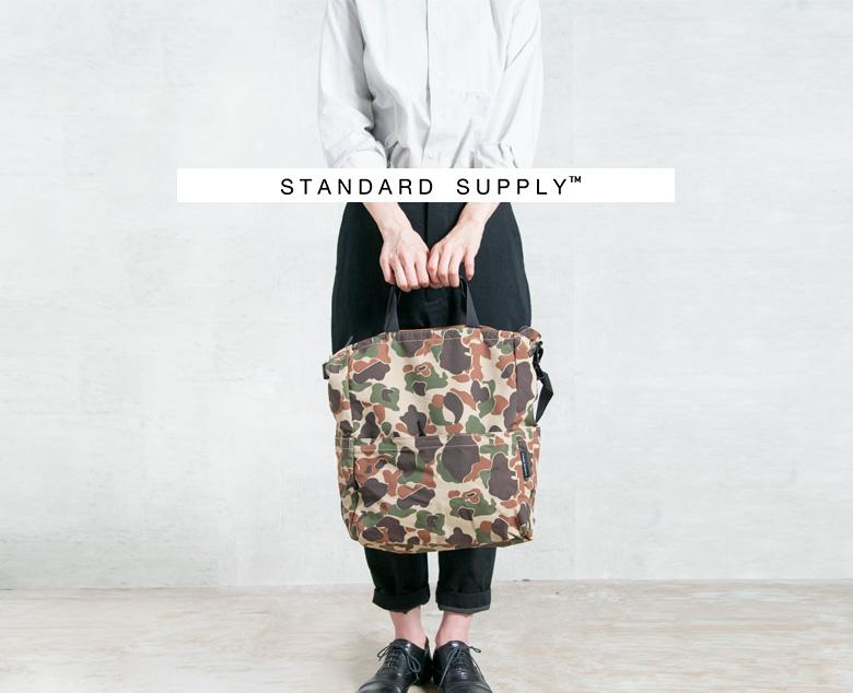 STANDARD SUPPLY(スタンダードサプライ)ジップトップ2wayカモフラージュトートバッグ ziptop2waytote-16000