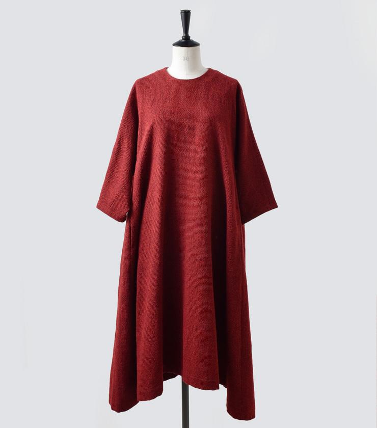 susuri(ススリ)ウールフリッパーワンピース 19-250