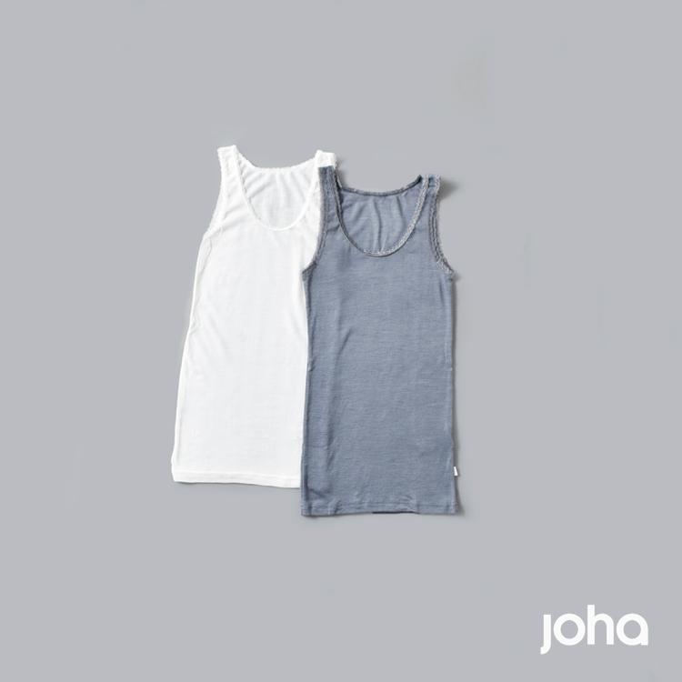 joha(ヨハ)ウールシルクタンクトップ 77691-72244