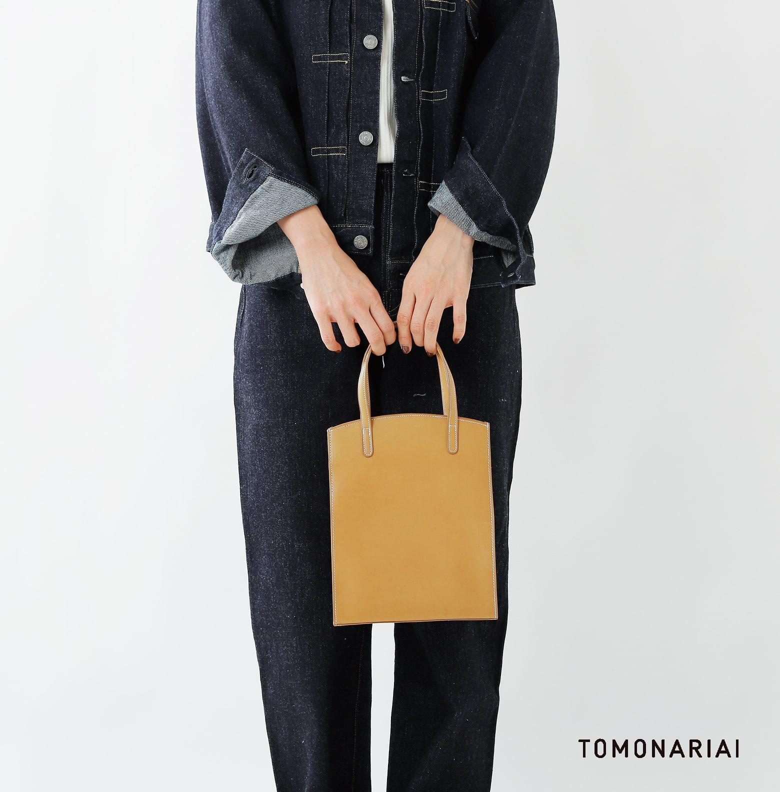 TOMO NARIAI(トモ ナリアイ)カーフレザートートバッグ cb19031