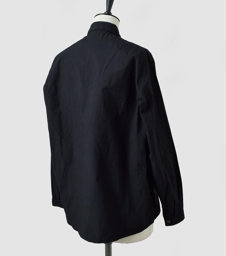 AU GARCONS(オーギャルソン)コットンロングスリーブシャツ hash