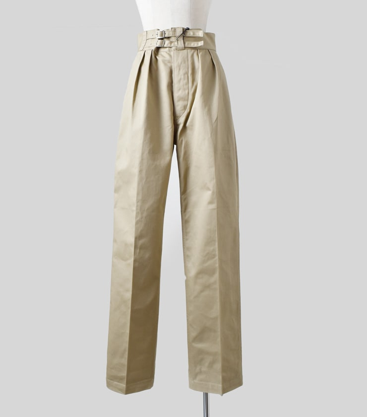LENO(リノ)ダブルベルトグルカトラウザーズDouble Belted Gurkha Trousersl1902-pt002