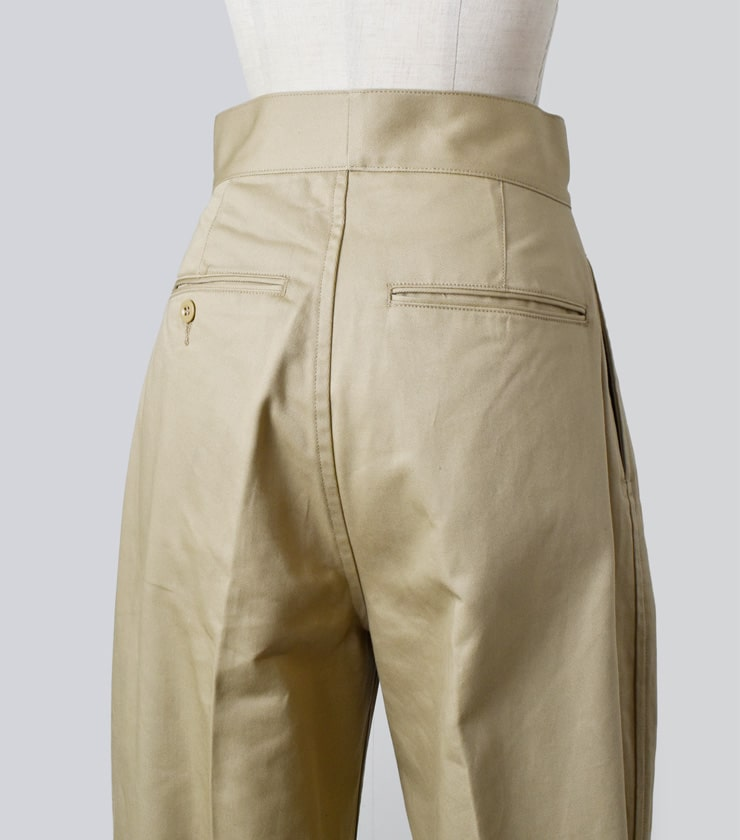 LENO(リノ)ダブルベルトグルカトラウザーズDouble Belted Gurkha Trousers l2001-pt001
