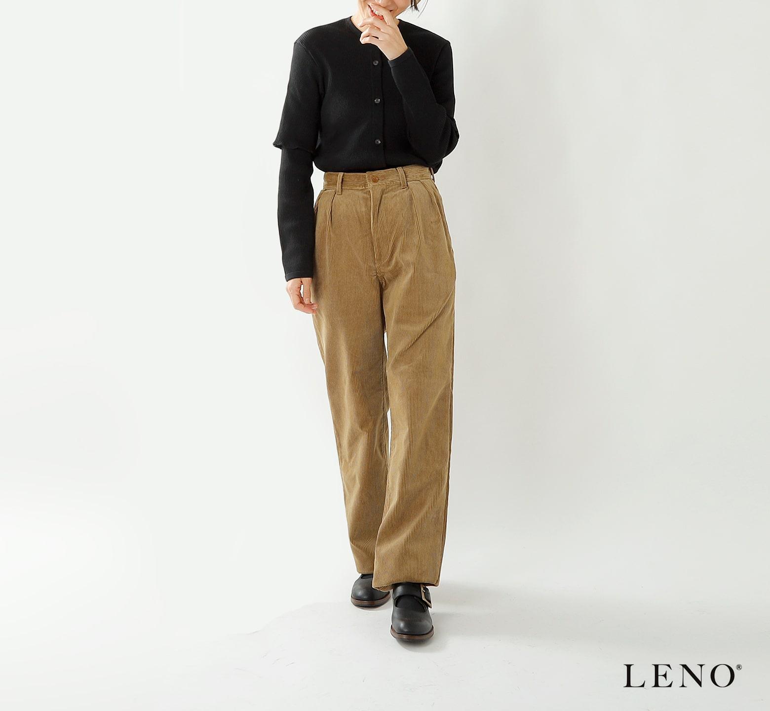 """LENO(リノ)コーデュロイトラウザーズ""""Corduroy Trousers"""" l1902-pt003"""