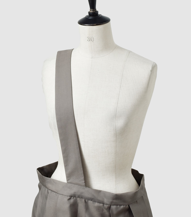 """TOUJOURS(トゥジュー)ピュアシルクワンショルダーランダムプリーツスカート""""One Shoulder Random Pleated Skirt"""" tm31ek04"""