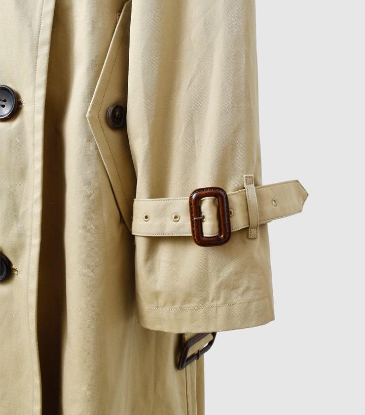 LENO(リノ)<br>撥水コットンギャバジンビッグトレンチコートBig Trench Coat  u1902-co001