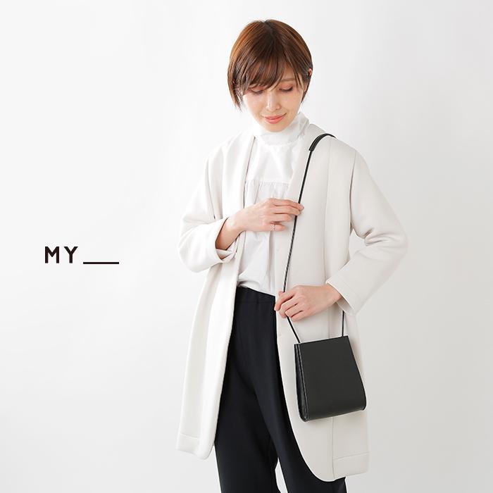 MY(マイ)×TOMONARIAI(トモナリアイ)カウレザーショルダーバッグ183-61905