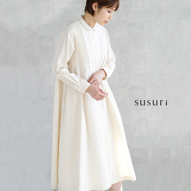 susuri(ススリ)ミュゼットワンピース 19-201