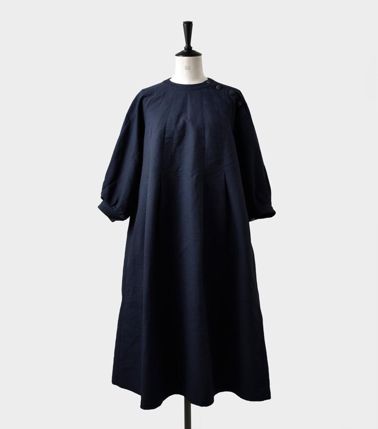 susuri(ススリ)コットンチルコワンピース 19-206