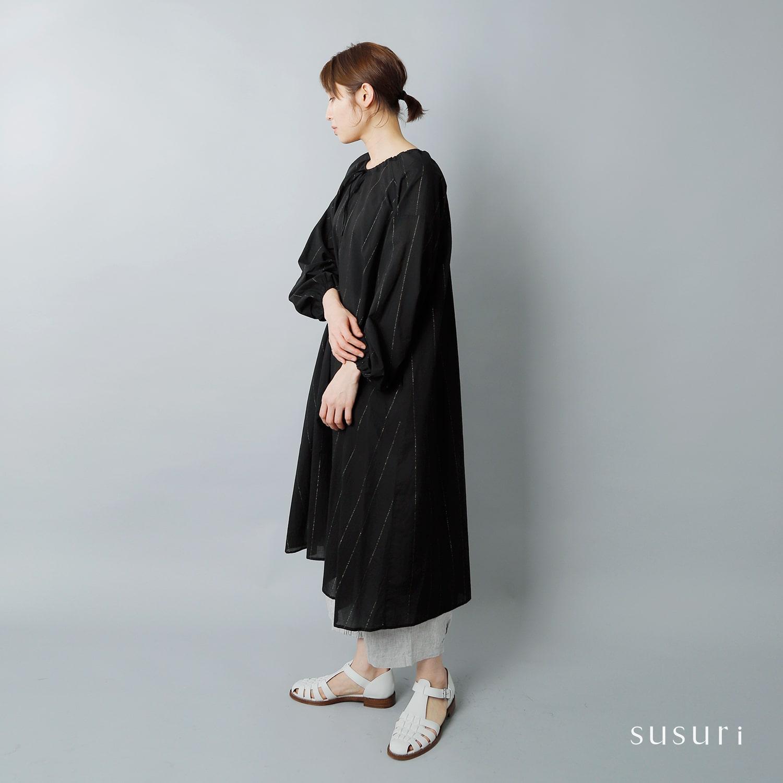 susuri(ススリ)コットンピーテルワンピース 19-213
