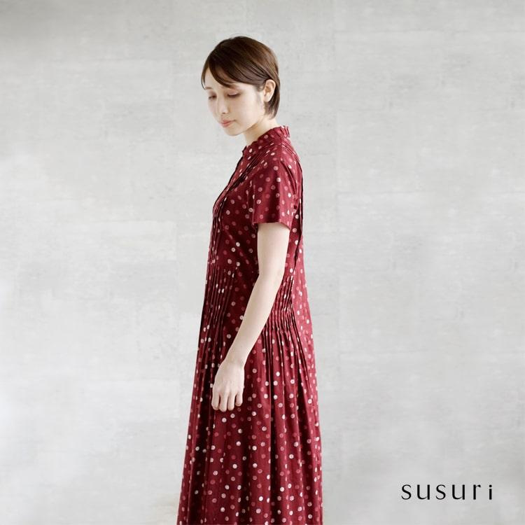 susuri(ススリ)クナビーノワンピース 19-215