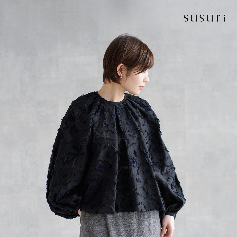 susuri(ススリ)キアラブラウス 19-402