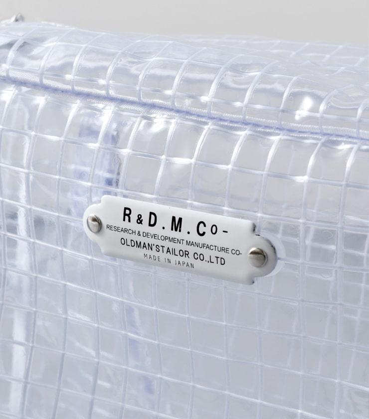 R & D.M.Co-(オールドマンズテーラー)クリアーボストンバッグ 3514