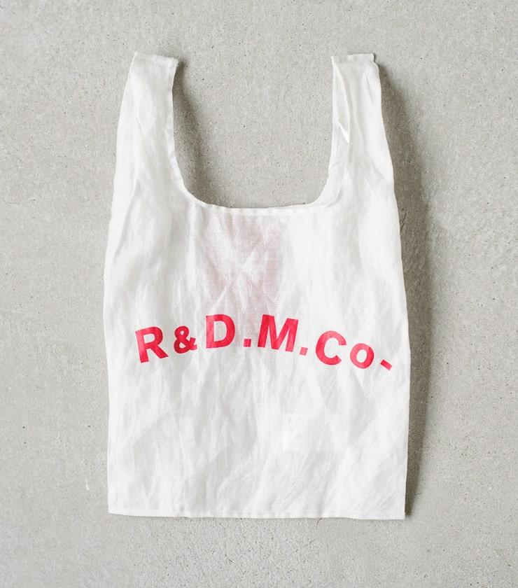 R & D.M.Co-(オールドマンズテーラー)ラフフェイスメタルスーパーマーケットバッグ 3524