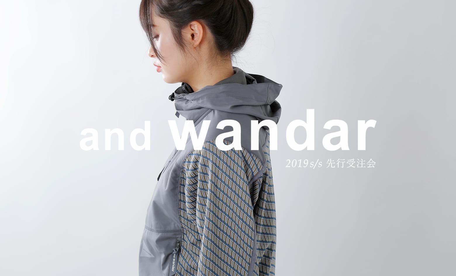 """andwandar19ss先行受注会"""" 3288"""